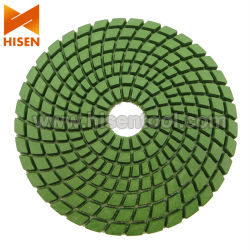 "4"" 100mm Diamond Polishing Pads humide souple"