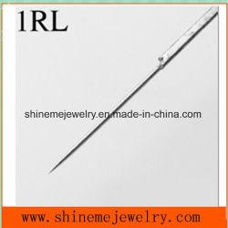 Пирсинг прибора 316 л из нержавеющей сталиконвергентных круг иглы (SPTL006)