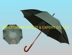 Gerader Regenschirm-Geschenk-Regenschirm-im Freienregenschirmsun-Regenschirm mit bekanntmachend, kundenspezifisch anfertigen