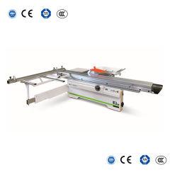 木働く機械装置の精密は45度の木製の切断の小さい滑走表のパネル見た