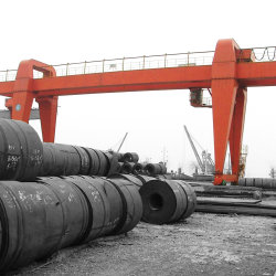 屋内および屋外の概要の上昇のガントリークレーン40トン、販売のための100トン