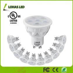 Фары дневного света 5000K электрических лампочек СИД Lohas GU10 6W (эквивалента) СИД Dimmable шарика галоида 50W