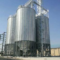 Venda a quente de aço galvanizado 1000toneladas Silo de armazenagem de grãos para venda
