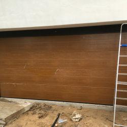 Passage automatique des prix de gros porte de garage sectionnelles lisse