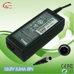 19.5V 3.34A Ladegerät-Energien-Adapter-Stromversorgung für DELL