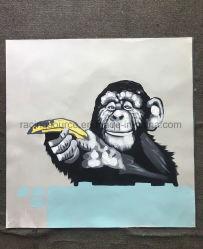 Pintura animal da arte da lona da pintura a óleo da mão para a decoração da parede