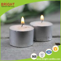Gros en chine de couleur blanche Tealight bougies pour l'utilisation de l'hôtel
