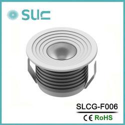 مصباح LED LED LED LED الضوئي السفلي للسقف ذو الخزانة الصغيرة بقوة 1 واط/3 واط (SLCG-F006)