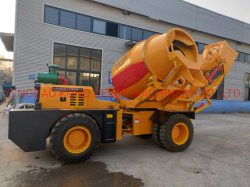 schwerer Selbst 3.5cbm, der mobilen konkreten Kleber-Mischer-Aufbau-Mischmaschine-Maschinerie-LKW lädt