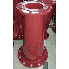 ISO 2531/BS EN545 instalação de tubo ferro dúctil cones Double-Flanged