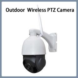 Réseau de surveillance de la fonction Microphone P2P Ahd PTZ caméra IP sans fil