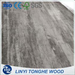 Textura 1220*2440*18mm melamina Brillante placa MDF Laminado de madera contrachapada de HDF