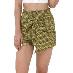 Modesta Impresión de prueba de algodón de la moda Mini Short para mujer