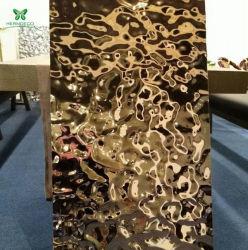 Декоративная нержавеющая сталь лист выбит/воды далеко идущие последствия для украшения на потолке