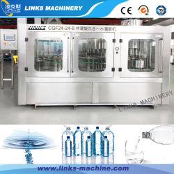 Bouteille en Plastique automatique l'eau potable pure Ligne d'emballage de remplissage de la machine