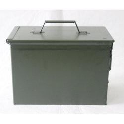 La munición del ejército militar puede Bala Metal Box