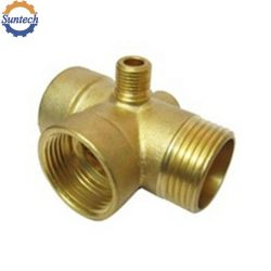 鋳造の鋳物場の機械化の部品の黄銅または錫の青銅色の砂か失われたワックスの投資の鋳造物多岐管の部品