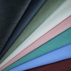 Fabrik gewaschenes Polyester PU-synthetisches Leder u. Leatheroid für oberen Kleid-Schuh-Sofa-Riemen