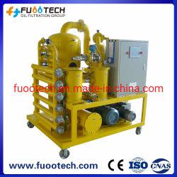Fuootech Serie Zyd-P vollautomatische Transformator-Öl-Filtration-Maschine (mit PLC-System)