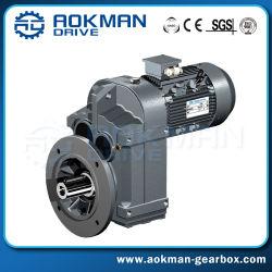 F Spiraalvormige Versnellingsbak van de Elektrische Motor van de Schacht van de Reeks de Parallelle