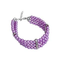 ペットの宝石類は小さい犬の女性子犬 Chihuahua ヨーク Esg10654 のためのチャームが付いているダイヤモンドの豪華な犬の Collar Necklace のピンクを bling ダイヤモンドとかわいい猫の Collar
