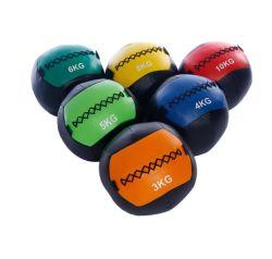 工場卸し売りカスタムメディシンボールの柔らかい練習の革壁の球