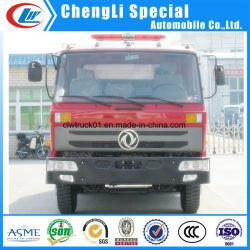 Véhicule Incendie Dongfeng 6cbm pétrolier de mousse de poudre sèche de l'eau Universal camion à incendie