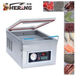 Héros Dz 4002D de la marque de grande taille des fruits de mer automatique du bac unique grand riz Machine d'emballage sous vide