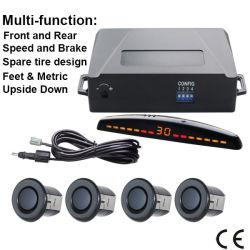Copia de seguridad automático para el coche Radar de aparcamiento traseros inalámbricos Kit de sensores del sistema