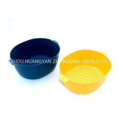 Ferramentas de cozinha para uso doméstico de dupla camada Filtrador Dissipador Multifuncional Taça de lavagem de produtos hortícolas Frutas Cesta de Drenagem de Plástico