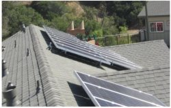 Soporte de Panel Solar Panel Solar soporte de montaje para techo plano Flatfix