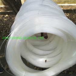 1.0mm-1.5mm-2.0mm-2.5mm-3.0mm-3.5mm-4.5mm-5.0mm tonnidi pesca monofilamento in nylon. 100% nylon, 5lb-400lb