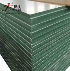 La fibre de bois de taille 4*8 Hmr /couleur blanc étanche Mélamine MDF