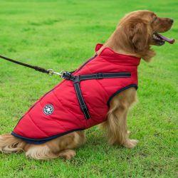 Grand Chien de compagnie Jacket avec le faisceau de l'hiver chaud Chien Vêtements pour le Labrador Manteau imperméable gros chien chihuahua Bouledogue Français de tenues