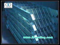 Escalera de acero galvanizado en caliente peldaños para escaleras de paso
