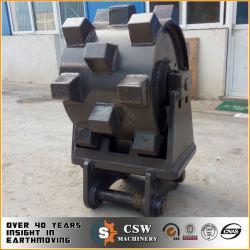 Zanja Minicargadores excavadora de rueda compactadora, Cat rueda adjuntos