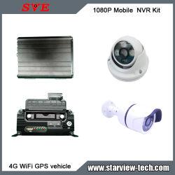 Sicherheit WiFi 3G/4G GPS HD NVR IPcctv-Kamera-Installationssatz
