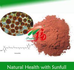 Extrato botânico 1% ~ 3% pó Astaxantina / 5% Natural Astaxantina oleorresinas poderoso antioxidante Efeitos