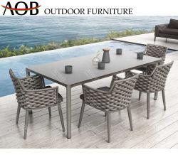 Современные Aobei открытый дворик в саду дома в ресторане отеля наружные защитные элементы обеденный стол стул мебель