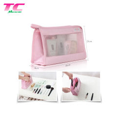 2018 Fermeture à glissière de voyage imprimés de façon personnalisée portable sac pochette cosmétique