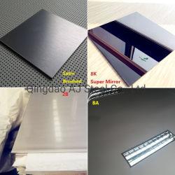 Кухонных Satin Ba отделка из нержавеющей стали лист цена SUS304 SUS430