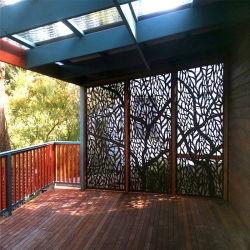 Hauptdekoration-hölzerner gestalteter Bambus, der dekorative Garten-Bildschirme faltet