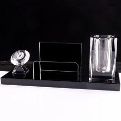 Kundenspezifischer Kristallfeder-Halter für Büro-Gebrauch