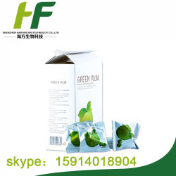Verde de hierbas para adelgazar la ciruela para bajar de peso