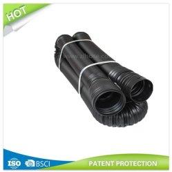 """Flexible et extensible noir de masse du tuyau de l'eau solide 75mm (3"""") X 50'"""