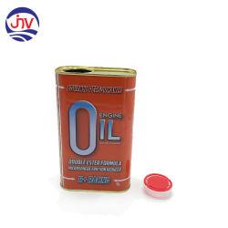 1L (32 oz) y 0,5 litros (16 oz) Qt PT Pintura de plástico con tapa Ring-Pull