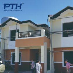 Kundenspezifisches helles Stahllandhaus-Haus mit einfachem Typen