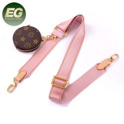 Lst078 Moeda livre na bolsa resistente a cinta de Bagagem Galpão impresso na bolsa o logotipo personalizado de tiras de tecido na alça da mala