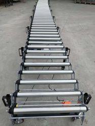 Powered convoyeur à rouleaux de convoyeurs convoyeur télescopique de l'unité mobile Système de convoyeur