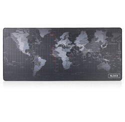 Caoutchouc personnalisé de grande taille Carte du Monde de Jeu Tapis de souris Logo personnalisé LED RGB Tapis de souris